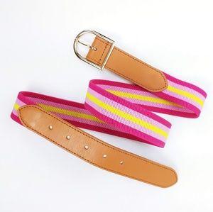 Talbots stretch fabric belt